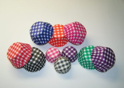 Gingham Design Cups