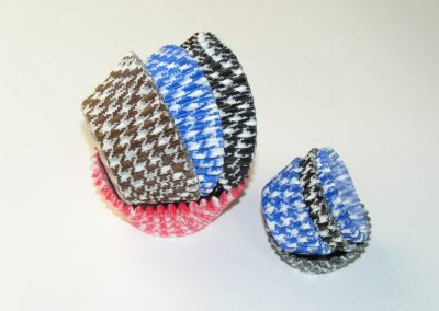 Hound Tooth Design Cups
