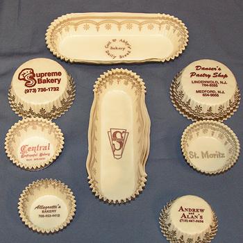 Imprinted Glassine Cups