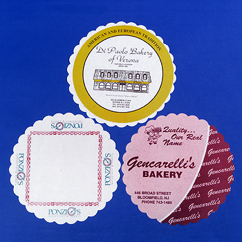 Imprinted Grease-Proof Doilies