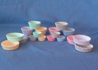 Pisa Stripe Cups