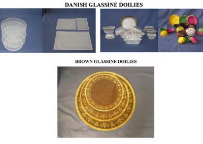 Stock Glassine Doilies