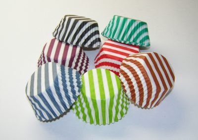 Stripe Design Cups