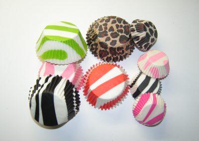 Zebra & Leopard Design Cups